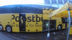 #Postbus in #Germany - A new way of #traveling.