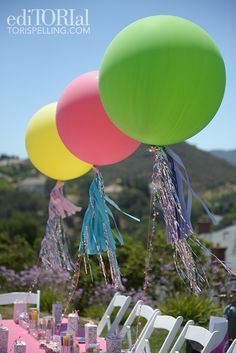 #DIY balloons for a birthday party