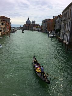 A gondola ride is a great way to explore the canals of #Venice, #Italy.