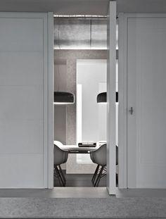 | MODERN + WHITE | #Flos #Smithfield pendant designed by #JasperMorrison