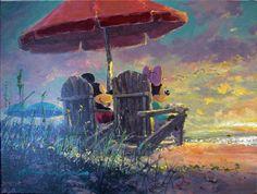 Mickey & Minnie's Sunset