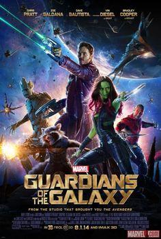 """O filme """"Guardiões da Galáxia"""" ganha novo cartaz http://cinemabh.com/imagens/o-filme-guardioes-da-galaxia-ganha-novo-cartaz"""