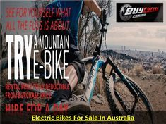E-Mountain Bike Riding – Why You Should Go Tubeless - These fastest electric mountain bike is heavier than most other types of regular bikes. The e-mount - E Mountain Bike, Electric Mountain Bike, Cycling Australia, Electric Bikes For Sale, Bike Style, Baby Strollers, Monster Trucks, Bicycle, Workout