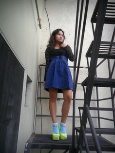Space loves disco | katacheme Outfit Posts, Rainbow Colors, Skater Skirt, Love, Space, Skirts, Outfits, Fashion, Amor
