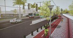 Projeto das calçadas e ciclovia da Flores da Cunha agora só depende da aprovação da Caixa