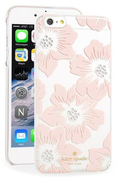 kate spade new york 'hollyhock' iPhone 6 Plus & 6s Plus case available at #Nordstrom