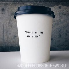 """We had one of those """"why didn't we think of that?!"""" moments when we came across this awesome account. Coffee Cups of the World is a collection of just that: cool coffee cups from coffee shops around the world. Say that three times fast!"""