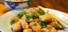 Sitruunakanaa Kanton:  Helppo uppopaistomenetelmä, jolla saat kananpaloihin juuri sellaisen kuorrutuksen kuin ravintolassa.