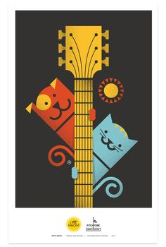 By Brent Couchman for Purina ONE series 'Pets Rock Posters'