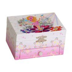 Mele & Co. Ashley Musical Dancing Ballerina Jewelry Box - 7.8W x 3.3H in. - 00800S10M