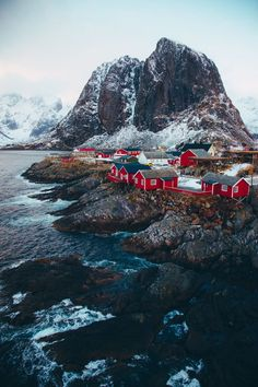 Lofoten Islands Norway Sprache: droneofsociety - Travel and Travel Lofoten, Places To Travel, Places To See, Travel Destinations, Holiday Destinations, Beautiful World, Beautiful Places, Beautiful Norway, Beautiful Beautiful