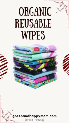 These reusable baby wipes made with organic cotton and bamboo are amazing for newborn babies. This set of 8 all natural cloths have no added chemicals which is best for babies delicate skin. Organic, Green life, Green living, Cloth, Used Cloth Diapers, Waste Reduction, Natural Parenting, Newborn Babies, Minimalist Lifestyle, Green Life, Cloth Napkins, Zero Waste, Baby Gifts