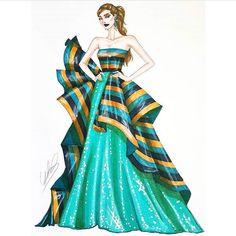 Fashion Design Sketchbook, Fashion Illustration Sketches, Fashion Design Drawings, Fashion Sketches, Drawing Sketches, Sketching, Fashion Photo, Fashion Art, Fashion Outfits