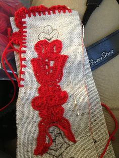 Hungarian Embroidery, Edge Stitch, Linen Fabric, Christmas Stockings, Stitches, Sewing, Holiday Decor, Cotton, Costume