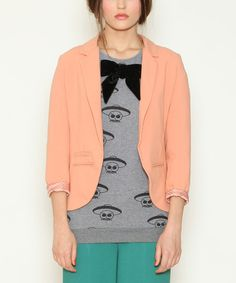 Look at this Nude Belinda Blazer on #zulily today!
