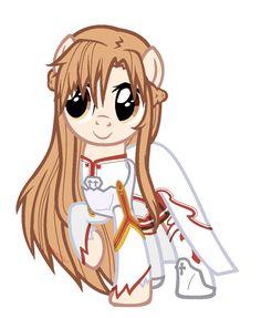 Asuna [Sword Art Online] My Little Pony version