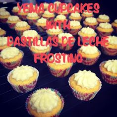 Playing Chef and Baker: Yema Cupcakes and Pastillas de Leche Frosting