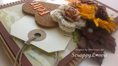 Scrappy Lovers: Bem vindo, Outono!!! Viria, Burlap Wreath, Cardmaking, Scrap, Wreaths, Fall, Cards, Design, Home Decor
