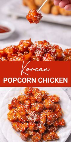 Are you a fan of K-drama movies? Korean Popcorn chicken must be so popular for you. Gochujang sauce has a unique taste for spicy lovers. I will tell you why! It tastes spicy with balancing subtle sweetness notes, which for sure will make you addicted.