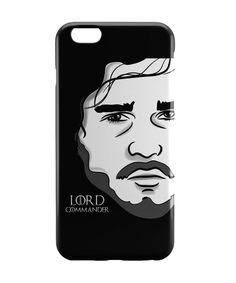 Lord Commander   Jon Snow Game Of Thrones iPhone 6 Case