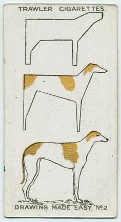 Trawler Cigarettes Drawing Made Easy Greyhound