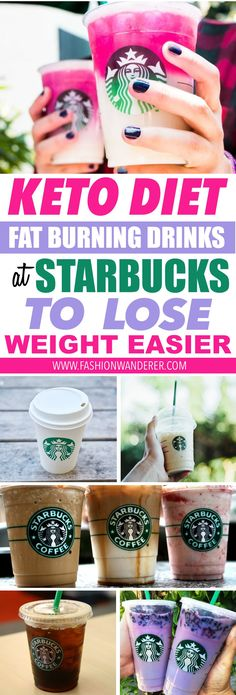 11 Keto Diet Fat Burning Drinks At Starbucks To Lose Weight Easier - Fashion Wanderer