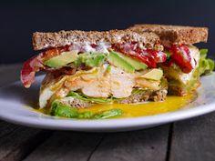 Barbells and Bellinis: Spicy Chicken Cobb Sandwich