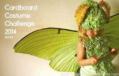 Fantastic cardboard costume. From - The Cardboard collective - Cardboard Costume Challenge 2014
