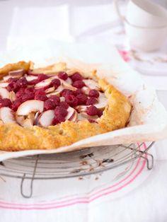 Rezept: Himbeer-Nektarinen-Crostata von Cynthia Barcomi