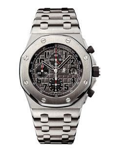 Audemars Piguet Titanium Royal Oak Offshore Chronograph with a Date Display Anthracite Dial at London Jewelers!