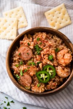 Campbells jambalaya one dish my favorite jambalaya recipe ever flavorful slow cooker jambalaya forumfinder Choice Image
