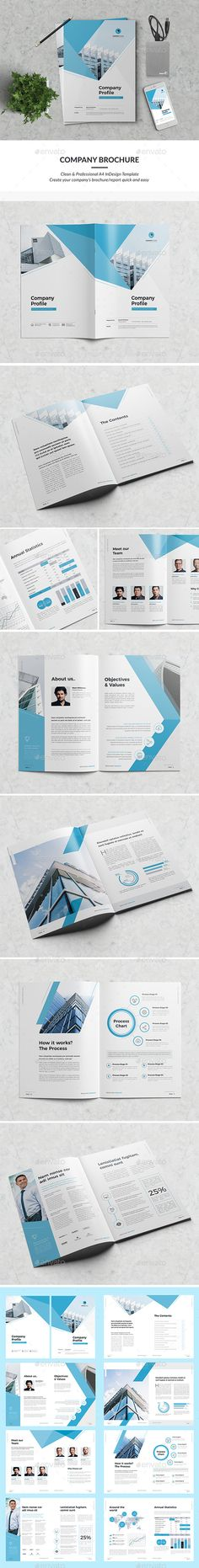 Minimal Company Profile 16 Pages by AdobeRashad | GraphicRiver
