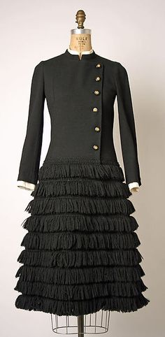 House of Chanel | Dress c. 1970| French by House of Chanel (French, founded 1913)