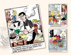 2017 Promo Calendars - Dennis The Menace Comic Art Calendar - September Dennis The Menace Comic, Art Calendar, My Dad, Comic Art, September, Cartoon Art, Comics