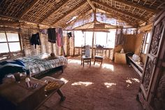 surfer interior design | Inside the surf shack at Todos Santos, Mexico by Mareen Fischinger