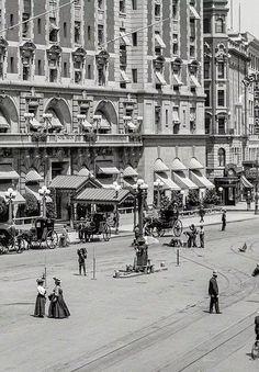 New York's Times Square, circa 1908