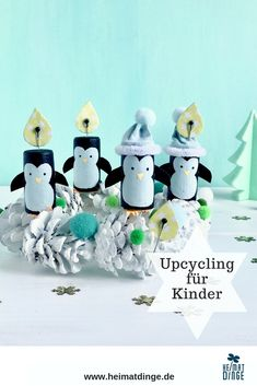 Charming Advent wreath for children. The animal Advent wreath made of cork and .