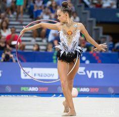 Dina Averina 2017 Mondiali di Pesaro