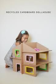 Resultado de imagen de homemade dollhouse for toddler