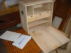 ChuckBox- Figure out how you want to arrange the stuff. Cardboard works well to mock it up. Then build a box that will hold it all.     I recommend planning down the wood from standard 3/4in to 5/8in. 1/2 would be too much I think for the load.    I recommend using Poplar rather than Pine. It is stronger and lighter than the Pine.