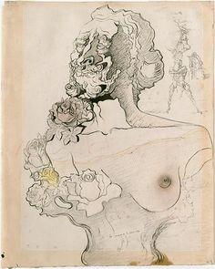 La mémoire de la femme-enfant, Dali (1931)