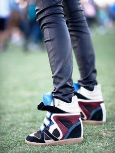 adorable [sneaker wedges]