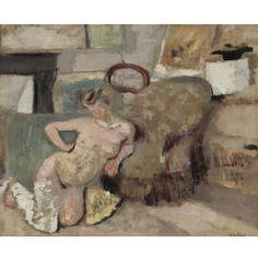 Édouard Vuillard, NU ASSIS PARTERRE ______________________________ ♥♥♥ deniseweb.free.fr ♥♥♥