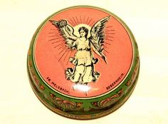 Victoria Apotheke Pharmacy Elberfeld Medical Angel Tin 1920 | eBay