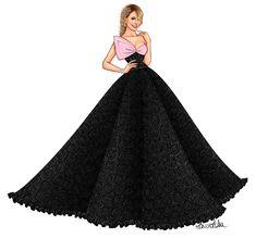 Dress Design Drawing, Dress Design Sketches, Fashion Design Drawings, Fashion Sketches, Fashion Drawing Dresses, Fashion Illustration Dresses, Fashion Dresses, Fashion Figures, Ulzzang Fashion