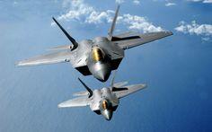 Aviones de guerra Aviones invisibles:  F-22 Raptor