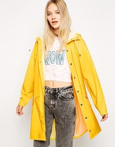 I've been after a fisherman-style coat for a long time… it obviously has to be bright yellow; go bold or go home! http://asos.to/1ob65Su