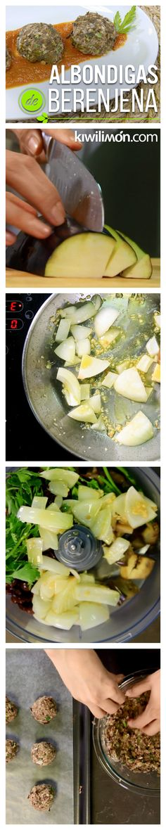 Sustituye la carne en y haz la versión saludable de las recetas de toda la vida. Estas albóndigas están llenas de proteína vegetal, son exquisitas y no engordan. ¡Ideales para la dieta!
