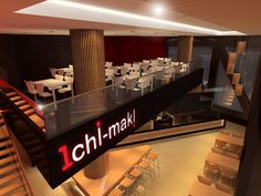 Ichi Maki Restaurant Melbourne. Design: Peter Carman Melbourne, Basketball Court, Restaurant, Eye, Design, Diner Restaurant, Restaurants, Dining