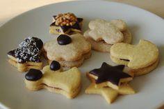 kivi: Alternativní linecké cukroví Agar, Cookies, Food, Crack Crackers, Biscuits, Essen, Meals, Cookie Recipes, Yemek